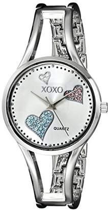 XOXO Women's XO1087 Dial -Tone Heart Watch
