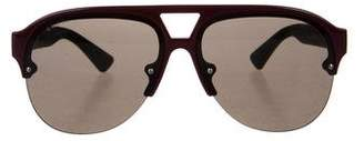 Gucci Aviator Tinted Sunglasses