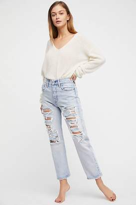 Levi's Wedgie Straight Destroyed Jeans