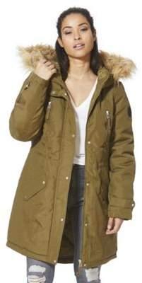 Vero Moda Faux Fur Trim Hooded Parka XS
