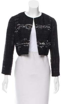 Prabal Gurung Embellished Crop Jacket