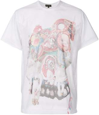 Comme des Garcons toy print perforated T-shirt