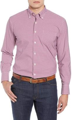 Peter Millar Mimi Regular Fit Check Performance Sport Shirt