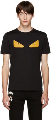 Fendi Black Monster T-Shirt $450 thestylecure.com