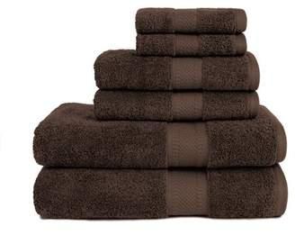 ADI Organic 6 Piece Towel Set in Coffee