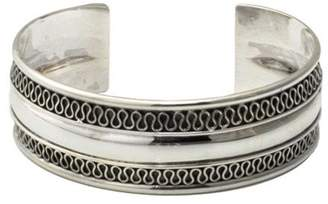 Novica Artisan Crafted Sterling Captivated CuffBracelet