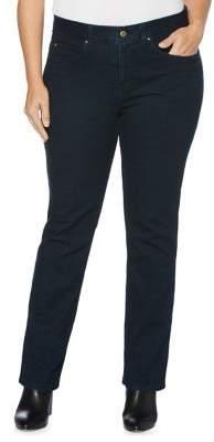 Rafaella Plus Straight-Leg Jeans