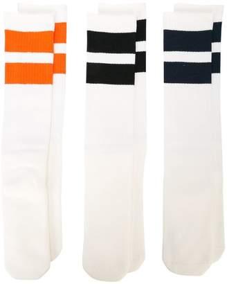 Neighborhood striped socks