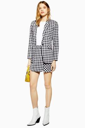 d9af5fa02c11 Topshop Womens Tall Gingham Skirt - Monochrome