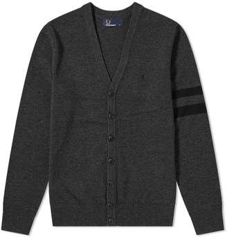 Fred Perry Authentic Tipped Sleeve Cardigan