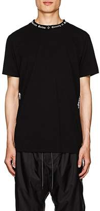 Marcelo Burlon County of Milan Men's Logo Cotton Jersey T-Shirt