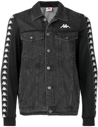 Kappa logo sleeve denim jacket