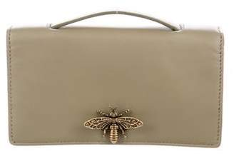 Christian Dior 2016 Leather Bee Pouch
