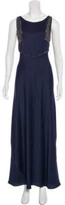 Reiss Embellished Evening Dress