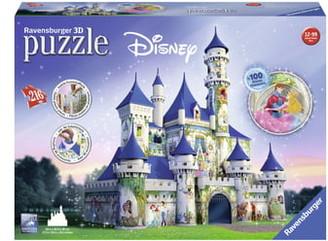 Ravensburger 216-Piece Disney 3D Castle Puzzle