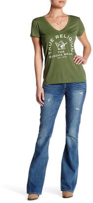 True Religion Joey Flap Low Rise Flare Jean $199 thestylecure.com