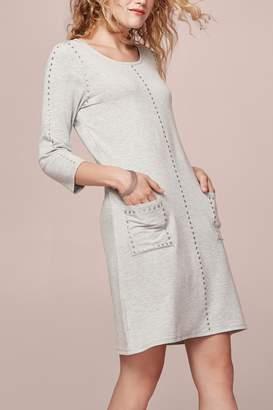Tribal Soft Grey Dress