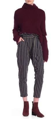 Dress Forum Striped High Waist Pants