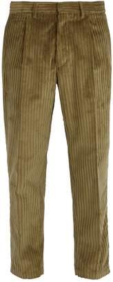 THE GIGI Cotton-corduroy trousers