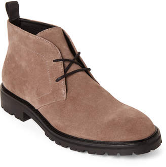 Calvin Klein Army Fatigue Ultan Suede Chukka Boots