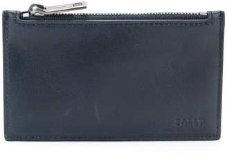 Bally stripe detail zipped coin pouch