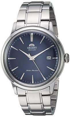 """Orient Men's """" Bambino Version 5"""" Japanese Automatic / Hand-Winding Stainless Steel Bracelet Dial Color: Model #: RA-AC0007L10A"""""""