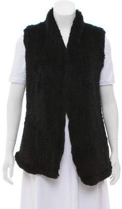 June Knitted Fur Vest