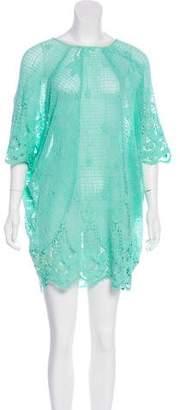 Miguelina Lace Mini Dress