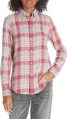 Polo Ralph Lauren Logo Plaid Shirt