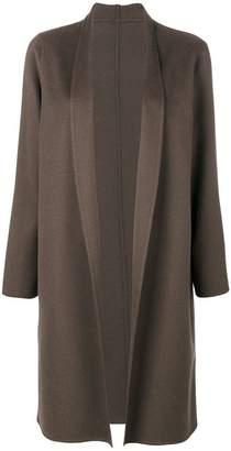Liska shawl lapel midi coat