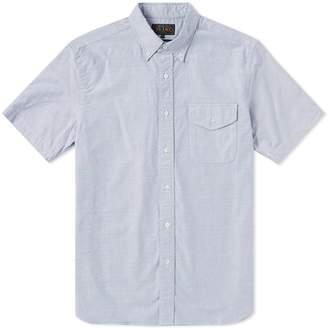 Beams Short Sleeve Oxford Shirt