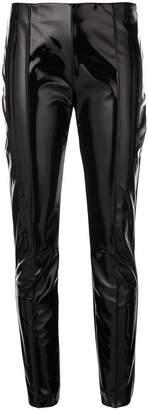 Valentino vinyl skinny trousers