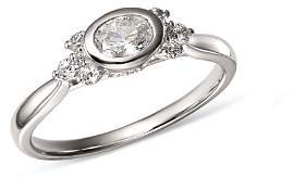 Bloomingdale's Diamond Oval Ring in 14K White Gold, 0.50 ct. t.w. - 100% Exclusive