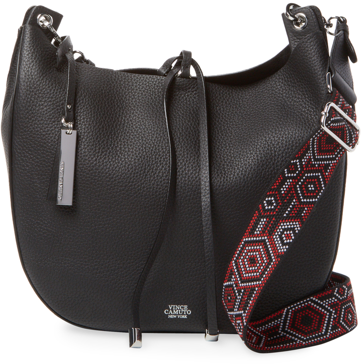 Vince Camuto Women's Suzet Leather Hobo Bag