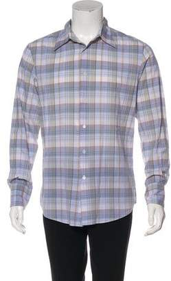 John Varvatos Patterned Casual Shirt