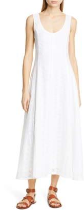 Polo Ralph Lauren Eyelet Linen Maxi Dress