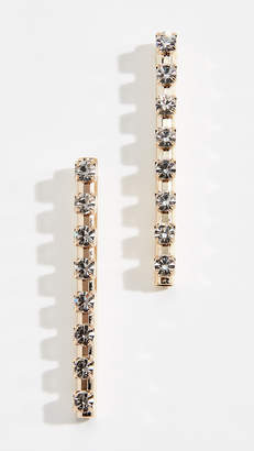 Anton Heunis Linear Drop Earrings