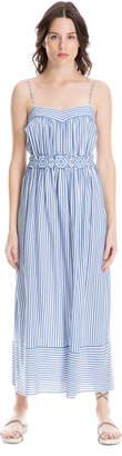 Max Studio striped modal maxi dress