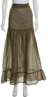 1743840994ae Albus Lumen Semi-Sheer Maxi Skirt
