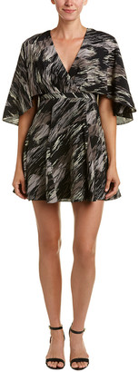 Halston Silk A-Line Dress