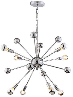 Orren Ellis Stegner Metal 8-Light Chandelier