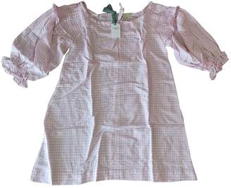 Innika Choo Pink Linen Dress for Women