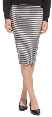 Whistles Striped Jersey Tube Skirt
