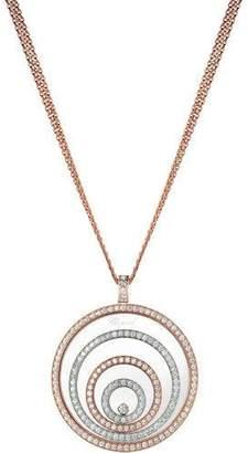 Chopard Happy Spirit 18k Two-Tone Diamond Long Pendant Necklace, 3.17tcw
