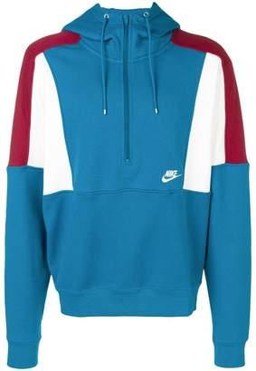 Nike half zipped hoodie