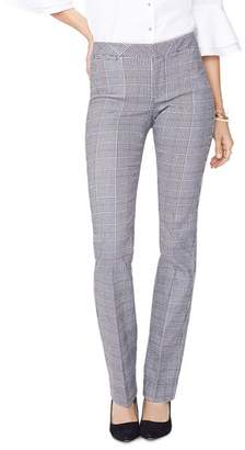 NYDJ Glen Plaid Straight Pants