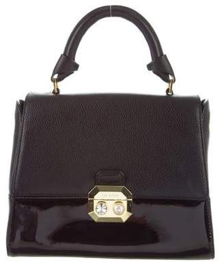 Ted Baker Textured Leather Satchel