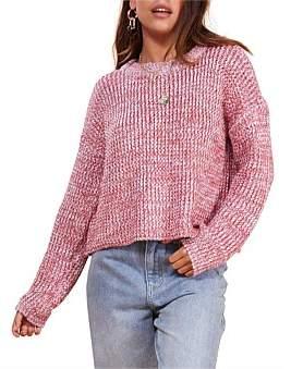 MinkPink Memoir Crewneck Sweater
