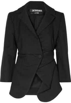 Jacquemus La Veste Saad Wool Blazer - Black