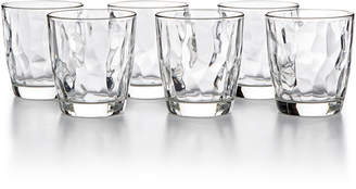 Bormioli Diamond 6-Pc. Double Old Fashioned Glass Set
